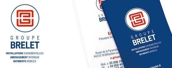 Création du logo et de la charte graphique du groupe Brelet