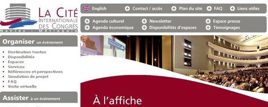 Refonte du site web de la Cité des Congrès