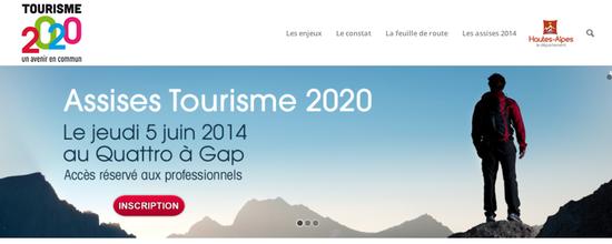 Site Tourisme 2020
