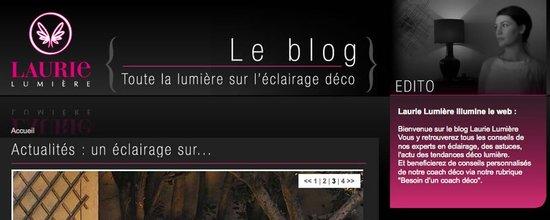 Le Blog Laurie Lumière