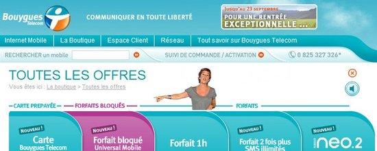 Intégration d'une campagne vidéo pour la boutique Bouygues Telecom