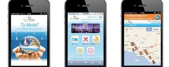 Ty mobil', le site mobile de l'Office de Tourisme du Pays de Lorient