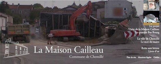 Site de la Maison Cailleau