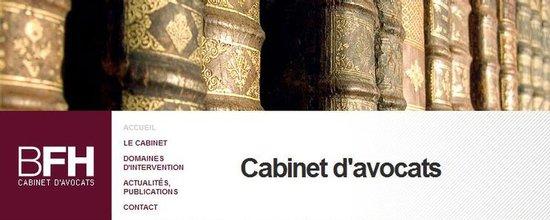 Réalisation du site Internet du cabinet