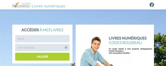 Site bibliothèque numérique Code Rousseau