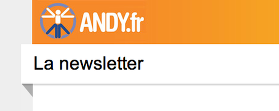 Outils de newsletter Andy.fr