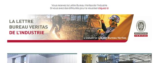 La Lettre Bureau Veritas de l'Industrie