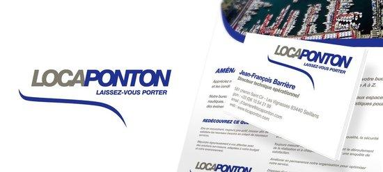 Création du logo et de la charte graphique de Locaponton