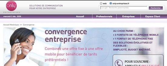 Site Web only entreprises