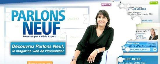 Intégration de Parlons Neuf, le magazine web de l'immobilier neuf