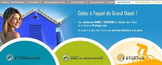 Intégration du site des 3 résidences et du portail Home-Tourisme