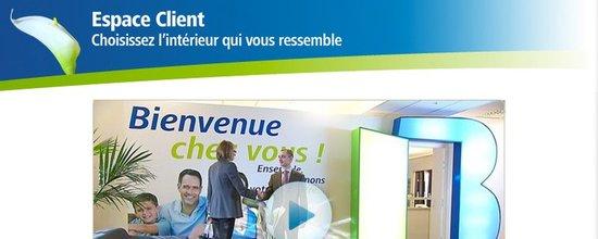 Int�gration de la pr�sentation vid�o des espaces clients Bouygues Immobilier d'�le-de-France