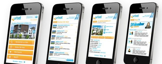 Site mobile d'Urbat