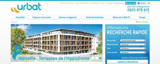 Site web d'Urbat