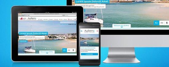 Webdesign pour le tourisme breton