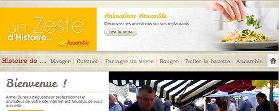 Création du site Ansamble.eu