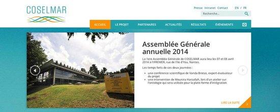 Un portail web pour le projet COSELMAR