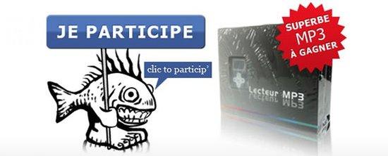 Jeu-concours Facebook sur la page de Poisson Bouge