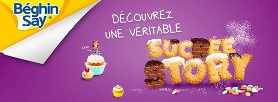 Création d'une page Facebook Béghin Say