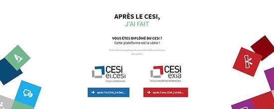 Réalisation du site apres.cesi.fr