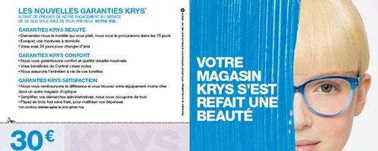 Campagne E-mailing pour Krys Avignon