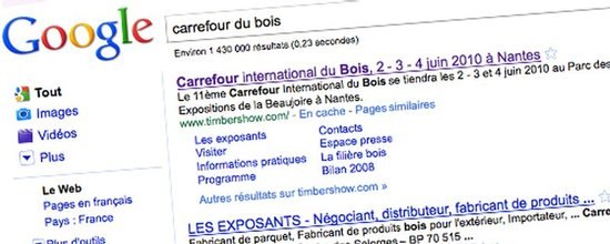 Optimisation pour le rfrencement du carrefour du bois