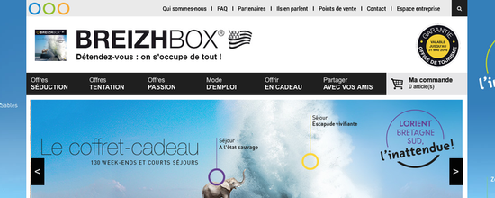 Refonte du site Breizhbox