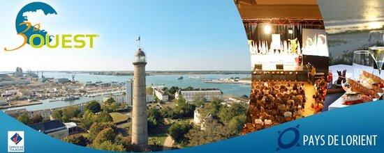 Création du site 3° Ouest, solution de tourisme d'affaire du Pays de Lorient