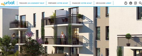 Webdesign du site d'Urbat