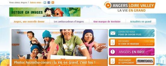Intégration du portail web de promotion de la métropole angevine