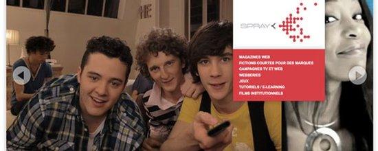 Site web de SPRAY Prod