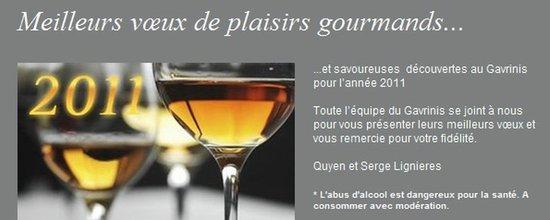 Gestionnaire d'envoi de la newsletter de l'hôtel Gavrinis