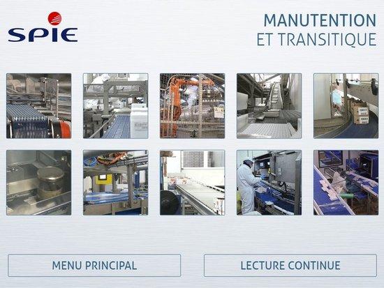 Interface vidéo pour SPIE Ouest Centre
