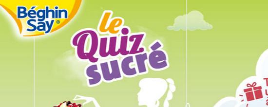 Quiz Sucré