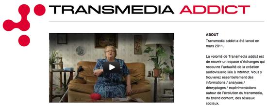 Tumblr Transmedia Addict
