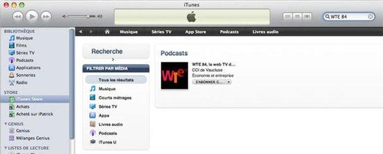 Podcast vidéo WTE 84