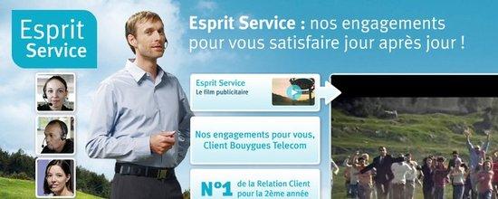 Intégration et mise en ligne du site Esprit Service