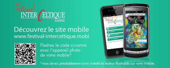 Site mobile du Festival Interceltique de Lorient