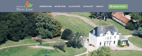 Site web du Domaine de Pierre Levée
