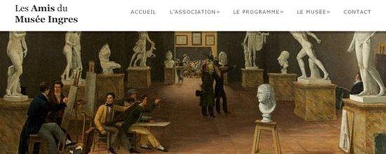 Le site web des Amis du Musée Ingres