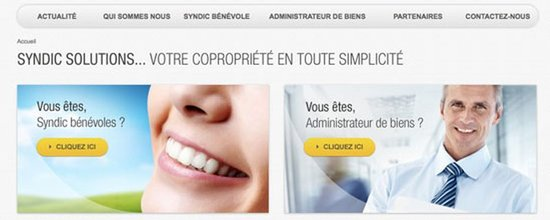 Le site de syndic-solutions