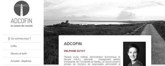 Un site pour Adcofin