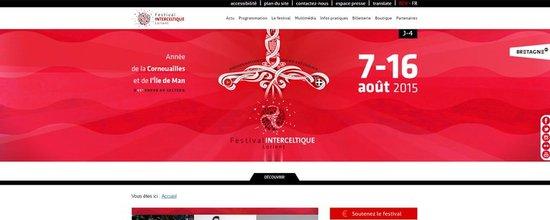 Site 2015 du Festival Interceltique de Lorient