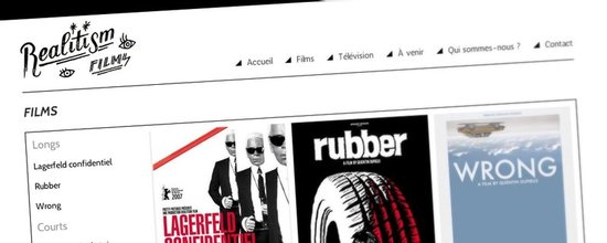 Site Internet de Realitism Films