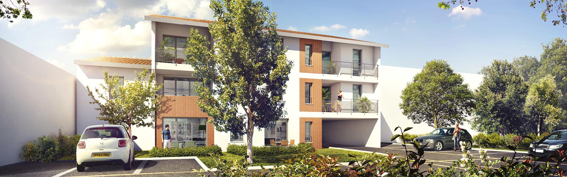 TOULOUSE (31) : Nouvelle r�sidence, quartier Saint-Simon