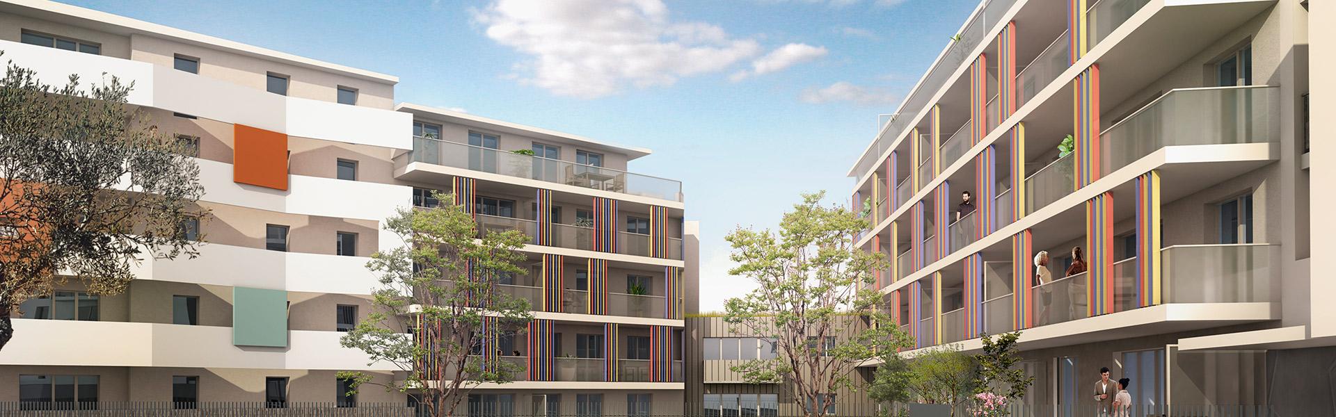 LA-SEYNE-SUR-MER (83) : Nouvelle r�sidence avec jardin