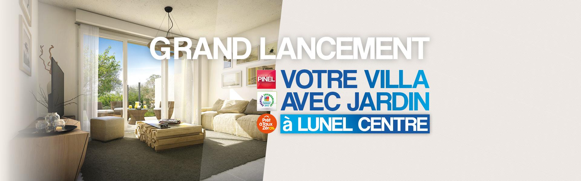 LUNEL (34) : Id�al entre Montpellier et N�mes