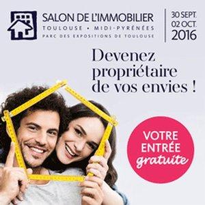 31 - TOULOUSE : Salon de l'Immobilier de Toulouse du 30 Septembre au 2 Octobre