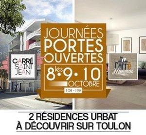 Journ�es Portes Ouvertes � Toulon (83) : 2 r�sidences � d�couvrir !
