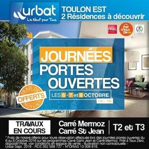 83 - TOULON : Carr� Mermoz - Carr� Saint Jean - Journ�es Portes Ouvertes du 6 au 8 Octobre